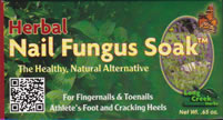 Nail Fungus Soak from Long Creek Herbs