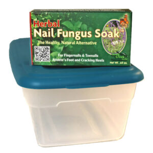 nail soak and soaking box combo